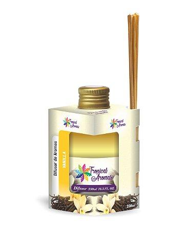 Difusor Caixinha Vanilla 250ml - Tropical Aromas