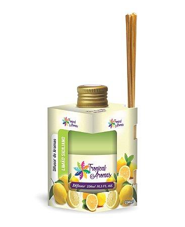 Difusor Caixinha Limão Siciliano 250ml - Tropical Aromas