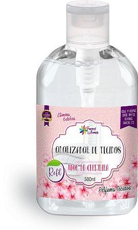 Refil Odorizador de Tecidos Flor de Cerejeira 500ml - Tropical Aromas