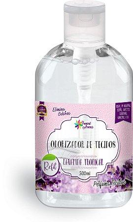 Refil Odorizador de Tecidos Lavanda 500ml - Tropical Aromas