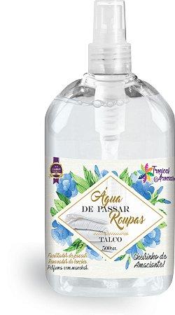 Água de Passar Talco  500ml - Tropical Aromas