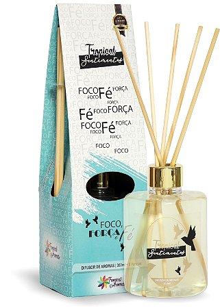 Difusor de Luxo Sentimentos Foco, Força e Fé 350ml - Tropical Aromas