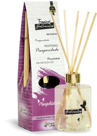 Difusor de Luxo Sentimentos Prosperidade 350ml - Tropical Aromas