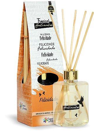 Difusor de Luxo Sentimentos Felicidade 350ml - Tropical Aromas
