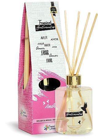 Difusor de Luxo Sentimentos Amor 350ml - Tropical Aromas