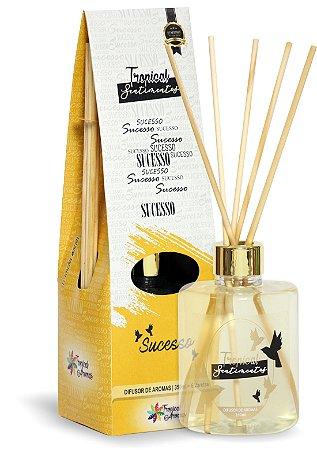 Difusor de Luxo Sentimentos Sucesso 350ml - Tropical Aromas