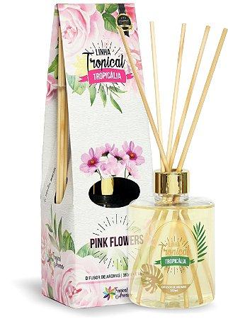 Difusor de Luxo Tropicália Pink Flowers 350ml - Tropical Aromas