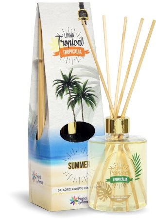 Difusor de Luxo Tropicália Summer 350ml - Tropical Aromas