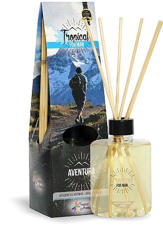Difusor de Luxo For Man Aventura 350ml - Tropical Aromas