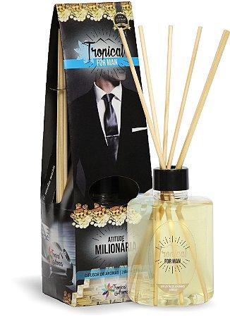 Difusor de Luxo For Man Atitude Milionária 350ml  - Tropical Aromas