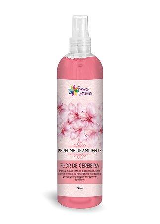Perfume de Ambiente Flor de Cerejeira 240ml - Tropical Aromas