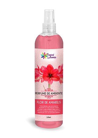 Perfume de Ambiente Flor de Amarílis 240ml - Tropical Aromas