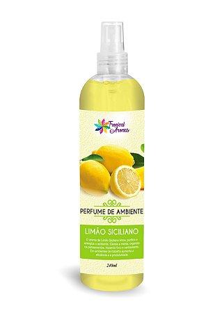 Perfume de Ambiente Limão Siciliano 240ml - Tropical Aromas