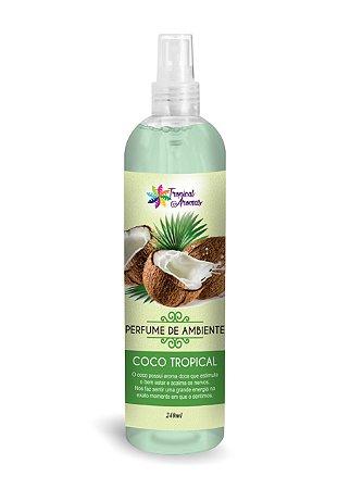 Perfume de Ambiente Coco Tropical 240ml - Tropical Aromas