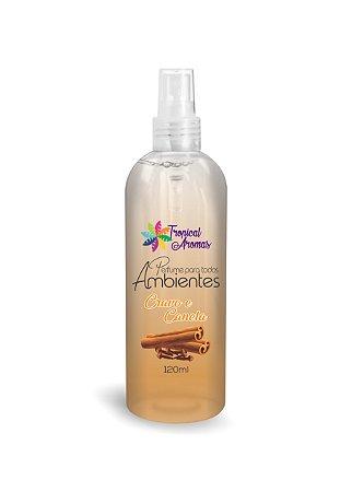 Perfume de Bolsa Cravo e Canela 120ml - Tropical Aromas