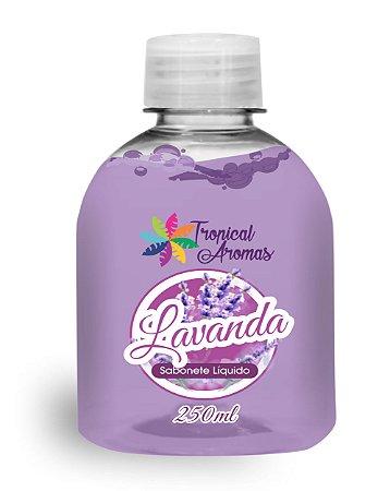 Refil Sabonete Líquido Lavanda 250ml - Tropical Aromas