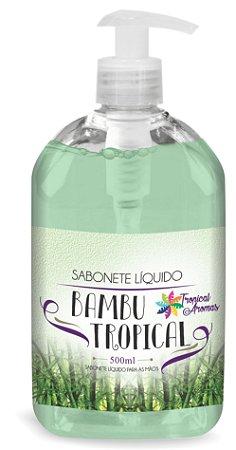 Sabonete LiquidoTropical Aromas Bambuc/ válvula 500ml