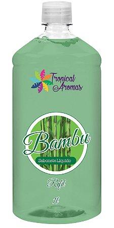 REFIL Sabonete Líquido Tropical Aromas Bambu 1L