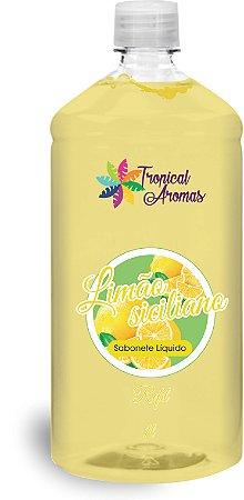 Refil Sabonete Líquido Limão Siciliano 1l - Tropical Aromas