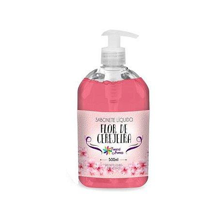 Sabonete Líquido Flor De Cerejeira 500ml - Tropical Aromas