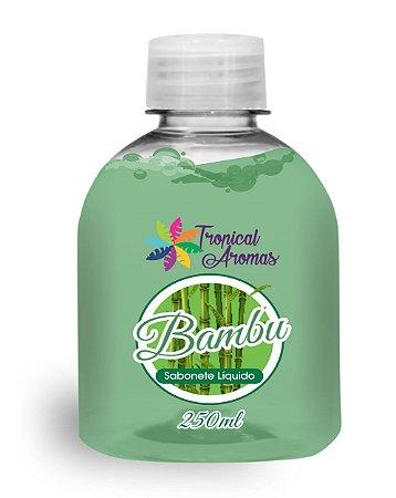 Refil Sabonete Líquido Bambu 250ml - Tropical Aromas