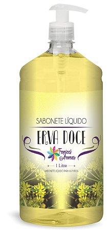 Sabonete líquido Erva Doce 1l - Tropical Aromas