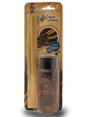 Difusor Blister Cravo e Canela 200ml - Tropical Aromas