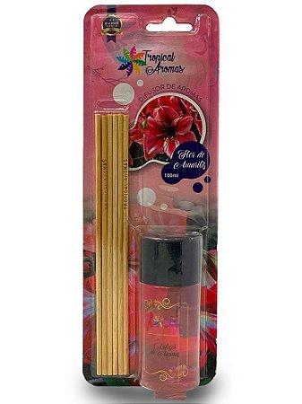 Difusor Blister Flor de Amarilis 100ml - Tropical Aromas