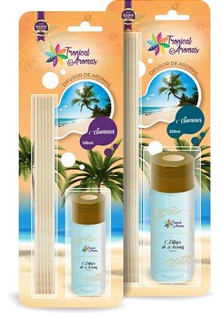 Difusor Blister Summer 100ml - Tropical Aromas