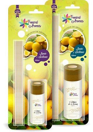 Difusor Blister Limão Siciliano 200ml - Tropical Aromas