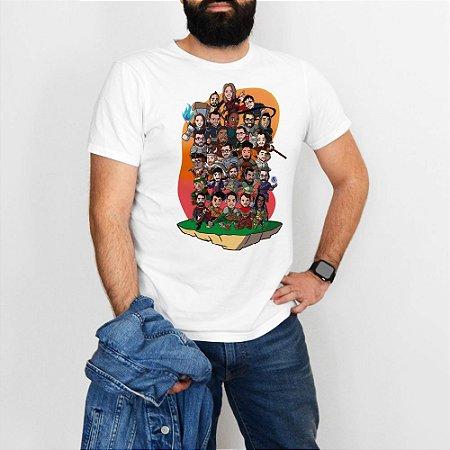 Camiseta Personagens Medieval