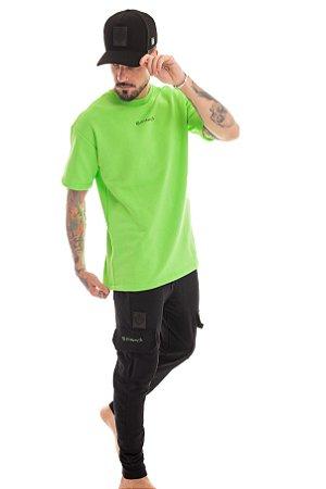 Conjunto Over Green Neon