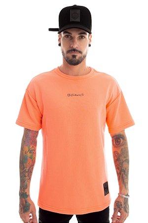 Camiseta Moletom Over Candy Neon