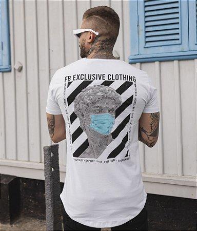Camiseta Greek Words Branca