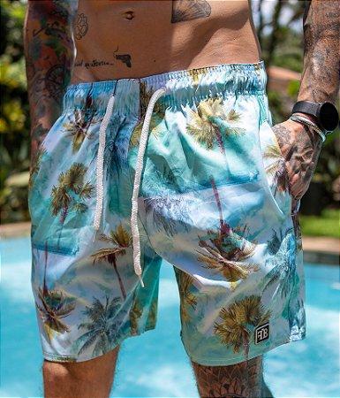 Shorts Coqueiro Verde