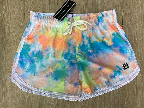 Shorts Fem. Tie Dye Claro