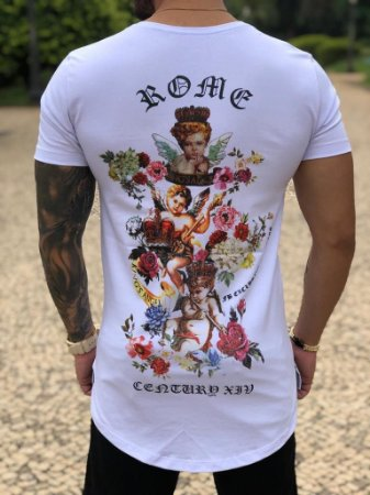 Camiseta FB Angels Roses White
