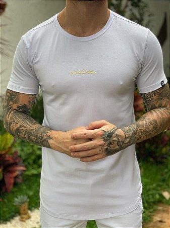 Camiseta FB Signature Gold White