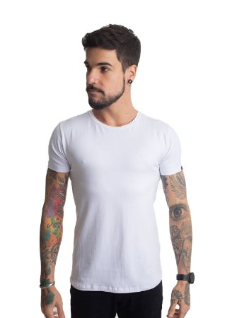 Camiseta Brasão Branca