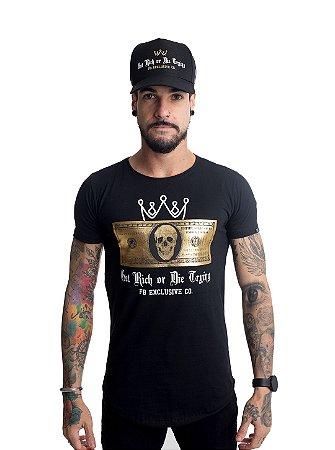 Camiseta Dolar Skull Preta