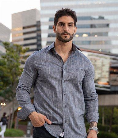Camisa Jeans Blue