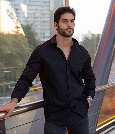 Camisa Jaguar Black