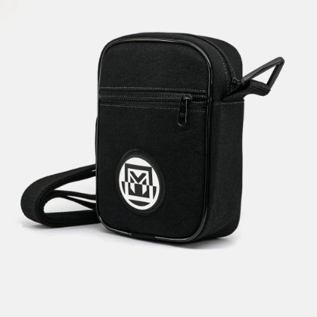 Shoulder Bag Manos Caps Preta - SB REFLECTIVE WHITE