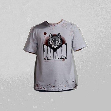 Camiseta Branca Lobo CS RKT LOBO