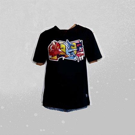 Camiseta Preta Manos CS RTK MURO