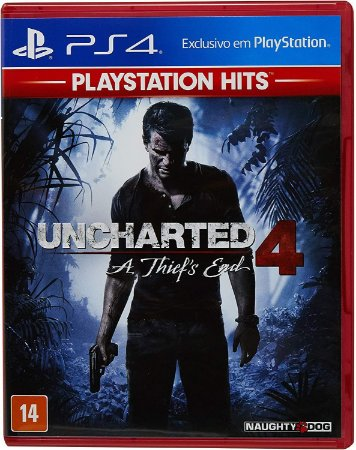 JOGO PS4 UNCHARTED 4  A THIEF´S END