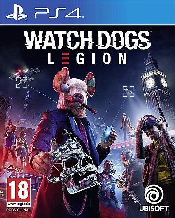 JOGO PS4 WATCH DOGS LEGION + PACOTE GOLDEN KING