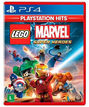 JOGO PS4 LEGO MARVEL SUPER HEROES
