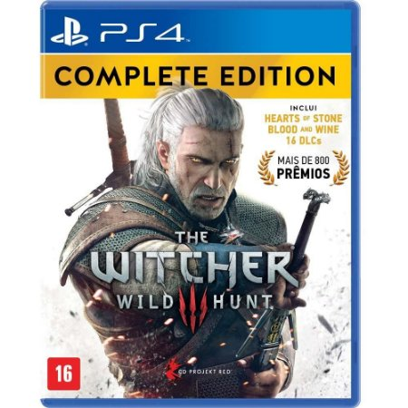 JOGO PS4 THE WITCHER 3 WILD HUNT COMPLETE EDITION