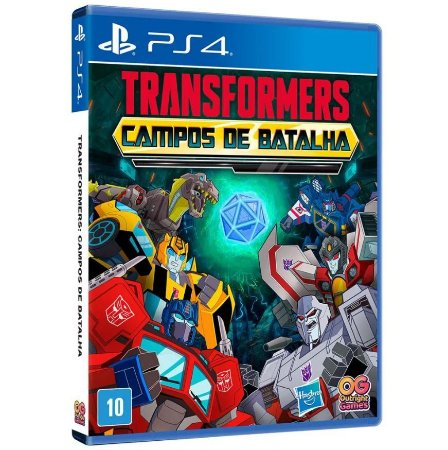 JOGO PS4 TRANSFORMERS CAMPOS DE BATALHA